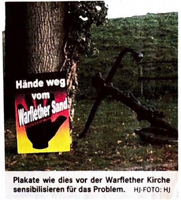 SPD sucht neue Wege zum Warflether Sand